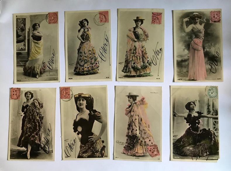 Le Belle Otéro.. CARTES POSTALES - REUTLINGER, photographe.