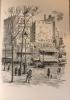 Le Piéton de Paris de Léon-Paul Fargue, illustré par Valdo Barbey.. ( BARBEY ) - FARGUE Léon - Paul.