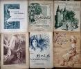Ensemble de 6 partitions illustrées. Musique ou Musique et paroles de Mme de Buzonnière-Montevray.. (BLESOIS) - BUZONNIERE-MONTEVRAY Valentine de.