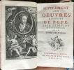 Oeuvres diverses de Pope. Traduites de l'anglois. Nouvelle édition considérablement augmentée avec de très belles figures en taille douce.        . ...