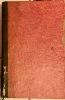 Mémoires du Comte de Maurepas, ministre de la Marine, etc. Troisième édition. Avec onze caricatures du temps, gravées en taille-douce.. (SALLE) - ...