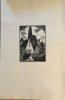"""Vieux Toits de Strasbourg. 25 gravures sur bois originaux de J. Journet.. ( STRASBOURG) - JOURNET , J.Exemplaire sur """"chine""""."""