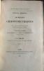 Recherches Chronométriques par MM. A. Delamarche et Ch. Ploix, ingénieurs hydrographes de la Marine. Publiées sous le Ministère de sons excellence M. ...