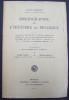 Bibliographie de l'histoire de la Belgique - catalogue méthodique et chronologique des sources et des ouvrages principaux relatifs à l'histoire de ...