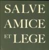 Salve Amice et Lege - The Duff Cooper Library, Paris. Cooper, Artemis