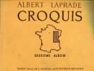 Croquis - Région de l'Est - Deuxième album. Laprade, Albert