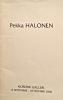 Pekka Halonen 1865-1933. Fersing Ferreira, Ingrid