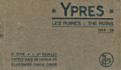 Ypres - Les ruines - The Ruins 1914-18 - cartes postales.