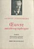 August Strindberg - Œuvre autobiographique - Tomes I et II. Bjurström, Carl Gustaf (édit.)