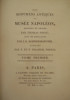 Les monuments antiques du musée Napoléon, dessinés et gravés par Thomas Piroli, avec une explication par J.G. Schweighaeuser, publiés par F. et P. ...