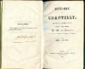 Histoire de Chantilly, depuis le dixième siècle jusqu'à nos jours. Fauquemprez (abbé)