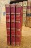 Chansons (2 volumes). Chansons Nouvelles (1 volume). BERANGER (P.-J. de)