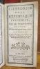 Calendrier de la République Françoise, tiré des Ephémérides, pour l'Année Mil sept cent quatre-vingt-treize ; contenant le Lieu du Soleil, son Lever, ...