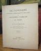 Dictionnaire historique, généalogique et héraldique des anciennes familles du Berry.. MARANSANGE (H. PetitJean de)
