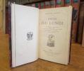 Contes du Lundi : La Partie de billard. Le Porte-drapeau. Le Juge de Colmar. La Dernière classe. Le Képi. Le Turco de la commune. Le Teneur de livres. ...