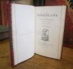 Les Dialogues de Jacques Tahureau gentilhomme du Mans, Avec Notice & Index par F. Conscience. TAHUREAU (Jacques)