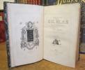 Histoire de Gil Blas de Santillane. Vignettes par Jean Gigoux. LE SAGE (Alain-René)