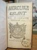 Mercure Galant, dédié à Monseigneur le Dauphin, octobre 1691.