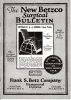 The New Betzco Surgical Bulletin.. Betz, Frank S. Company (supplier).
