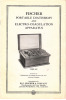 Fischer portable Diathermy and Electro-Coagulation apparatus.... FISCHER & COMPANY, H.G.
