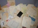 Importante et volumineuse archive constituée par François CHABERT dans les année 1925 à 1943, alors qu'il était secrétaire général de la fédération ...