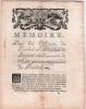 Mémoire pour les Officiers du Sénéchal & Présidial de Beziers, à l'occasion de l'Edit portant suppression du Présidial. . [BEZIERS].