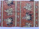 """DESSIN TEXTILE ORIGINAL  STYLE """"ART ETHNIQUE"""", INDES, ÉLÉPHANTS, CHEVAUX  Réf 4354, . M. OLIVE, Arts appliqués"""