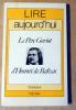 Le Père Goriot d'Honoré de Balzac.. Bendahan(Joseph). Balzac.