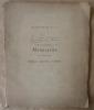 Catalogue de vente aux enchères de la Collection de Manuscrits avec miniatures, reliures, coffrets.. De M. L. Gruel de la Maison Gruel-Engelmann, ...