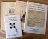 Autographes, Documents Historiques, Manuscrits... Ensemble de trois catalogues de vente aux enchères à Paris et d'un catalogue de vente de libraire de ...