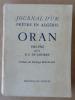 Journal d'un prêtre en Algérie; Oran; 1961-1962.. Laparre (R.P. de).