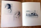 Balthus dessins et aquarelles. Galerie Claude Bernard-Paris. Catalogue de l'exposition d'octobre 1971.. [Balthus].