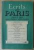Ecrits de Paris. Revue des Questions Actuelles, Janvier 1948.. Dacier, Isorni, Martin du Gard, Lemaire, Rougier, Chastenet...