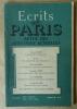 Ecrits de Paris. Revue des Questions Actuelles, N° 64 février 1950.. Dacier, Mathieu, Muret, Rougier, Le Grix...