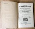 Précis D'Ichthyologie ou D'Histoire Naturelle des Poissons ou collection de figures représentant les poissons qui peuvent servir de types; dessinée ...