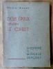 Deux époux selon le Christ Pierre et Mireille Dupouey.. Marie André.