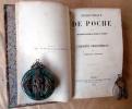 Curiosités Biographiques. Bibliothèque de Poche par une Société de Gens de Lettres et d'Erudits.. Lalanne (Ludovic).