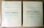 Histoires Extraordinaires. Nouvelles Histoires Extaordinaires. Illustrations de Gus Bofa. Traduction de Charles Baudelaire. Poé (Edgar).