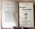Deuxième Memorandum (1838) et quelques pages de 1864.. Barbey D'Aurevilly (Jules).