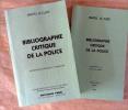 Bibliographie Critique de La Police. Deuxième édition revue et augmentée; accompagnée de son supplément.. Le Clère (Marcel).