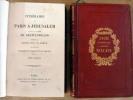 Itinéraire de Paris à Jérusalem précdé de Notes sur La Grèce et suivi des Voyages en Italie et en France.. Chateaubriand (M. le Vicomte de).