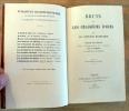 Bruin ou les Chasseurs D'Ours. Traduction de A. Letellier.. Mayne-Reid.