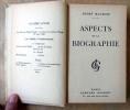 Aspects de La Biographie.. Maurois (André).