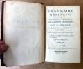 Grammaire générale, ou Exposition Raisonnée Des Eléments Nécessaires du Langage, pour servir de Fondement à l'étude de toutes les langues.. Beauzée.