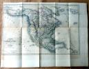 Carte Générale de l'Amérique du Nord et des Iles qui en dépendent. . Dufour; dressée sous la direction D'Alcide d'Orbigny.