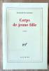 Corps de Jeune Fille.. Barillé (Elisabeth).
