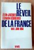 Le Réveil de la France. Mai-Juin 1968.. Servan-Schreiber (Jean-Jacques).