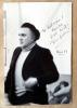 Amarcord. Je me souviens. Avec une photo dédicacée signée de Fellini, à Rome en 1973.. Fellini (Federico) et Guerra (Tonino).