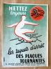 """Affiche concernant la prévention des accidents. """"Mettez toujours les Taquets D'Arrêt des Plaques Tournantes"""".. Chartereau (G.)."""