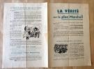 La Vérité sur le Plan Marshall.. Parti Communiste Français. Thorez (Maurice).